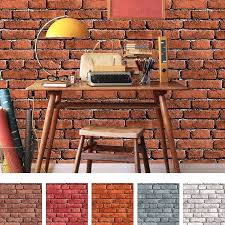 Imitation Brick Wallpaper Art Star Bricks