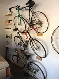 Ceiling Bike Rack Diy by Bikes How To Hang A Bike On The Wall Ceiling Bike Rack Single
