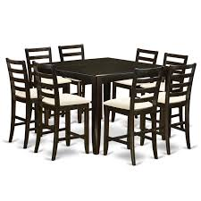 Tamarack 9 Piece Counter Height Extendable Solid Wood Dining Set Kitchen Design Table Set High Top Ding Room Five Piece Bar Height Ideas Mix Match 9 Counter 26 Sets Big And Small With Bench Seating 2018 Progressive Fniture Willow Rectangular Tucker Valebeck Brown Top Beautiful Cool Merlot Marble Palate White 58 A America Bri British Have To Have It Jofran Bakers Cherry Dion 5pc