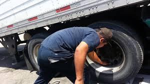 100 Truck Tire Changer Changing A Flat Semi Semi S