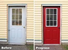 Painting My Garage Door Red Blog homeandawaywithlisa