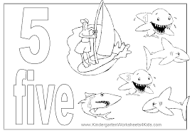 Free Coloring Pages Numbers 1 20 Of The Number
