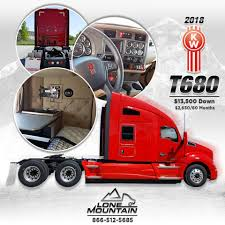 2018 Kenworth Truck Co. T680 -Cummins... - Lone Mountain Truck ... Lone Mountain Truck Leasing Truckersreportcom Trucking Forum 1 To Lease Trucks Right Off The Assembly Line We Had Snow At Our Iowa Location Check Out This 2016 West Flickr Competitors Revenue And Employees Owler Carter Lake Facebook 2009 Freightliner Cascadia From Youtube Sales Las Vegas Best Resource Group My Lifted Ideas Elegant Peterbilt 387 Pinterest