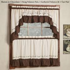 Waverly Kitchen Curtains And Valances by Kitchen Charming Kitchen Curtains Valances P055 001 Kitchen