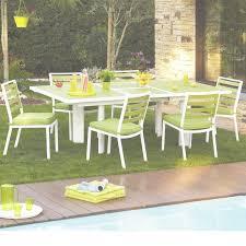 table et chaise de jardin chez leclerc fauteuil exterieur leclerc