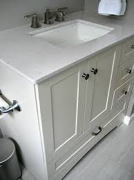 Home Depot Bathroom Sinks And Countertops by Home Depot St Paul Manchester Vanity Pairing With A Silestone