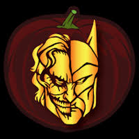 Harley Quinn Pumpkin Template by Joker Printable Pumpkin Carving Patterns Patterns Kid