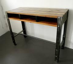 Lifehacker Standing Desk Diy by Manly Sandwich Standing Desk Boys Desk Wood Slab And Desks