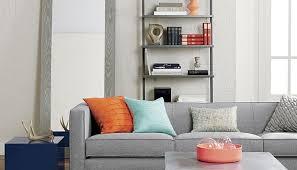 grey and orange living room ecoexperienciaselsalvador