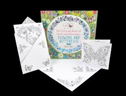 The Coloring Book Of Cards And Envelopes Flowers Butterflies Nosy Crow Rebecca Jones 9780763692445 Amazon Books