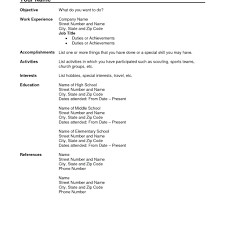 Resume Sample Janitor Samples Format For Fresh Graduates Regarding Free School Example