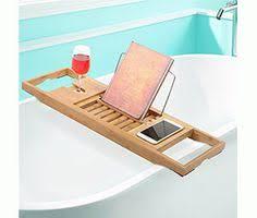 Teak Wood Bathtub Caddy by Teak Wood Bathtub Caddy Tray With Folding Mirror Mold Resistant