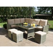 Ebay Patio Furniture Uk by Maze Rattan Garden Furniture Tuscany Kingston Corner Sofa Dining