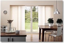 Sliding Glass Door Blinds In Panel Modern Kitchen