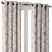 Grommet Top Curtains Jcpenney by Madison Park Westmont Fretwork Print Grommet Top Curtain Panel
