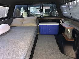 100 Truck Cap Camper Home Made Setup Bed Camping Tent Pickup Camping