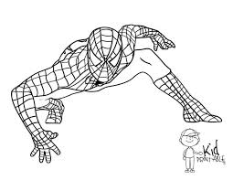 Coloring Pages Spider Man Page Spiderman Color Eassume Line Drawings Images To Superhero