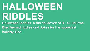 Halloween Riddles And Jokes For Adults by Riddles Best Riddles Twitter