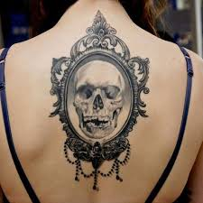 Gothic Tattoo On Back