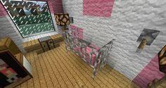 Minecraft Bathroom Ideas Xbox 360 by Minecraft Bathroom Pink Wallpaper Wall Design Shower Sink