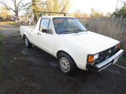 1981 VW Caddy Pickup Truck Gas And Diesel Project Auto And 4 Speed ...