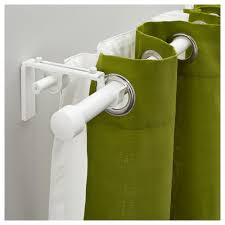 Ceiling Mount Curtain Track by Ceiling Green Grommet Curtains With White Ceiling Mounted Curtain
