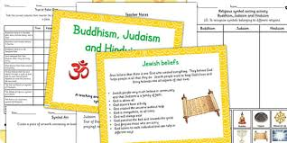 Buddhism Judaism And Hinduism Beliefs Religious Symbols