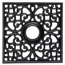 westinghouse square parisian 18 in iron scroll ceiling medallion