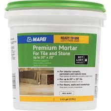 shop mapei premium mortar off white mastic flooring adhesive 1