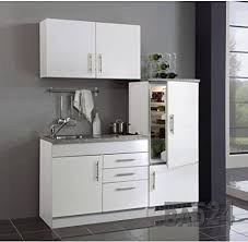 single küche 160 torona inkl kochplatte spüle kühlschrank