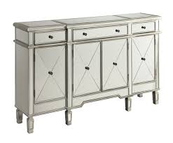 Target Black 4 Drawer Dresser by Mirror U0026 Silver Finish Wine Cabinet Caravana Furniture