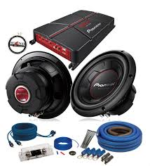 Amp & Sub Packages - Car Audio Package Deals - Car Audio, Video ...