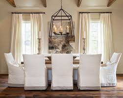 Dining Room Microfiber Chair Slipcovers Napoleon Navy Blue From