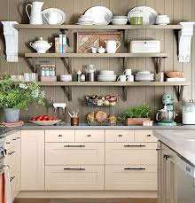Small Kitchen Organizing Ideas Wooden Shelves Click Pic For 42 Organization