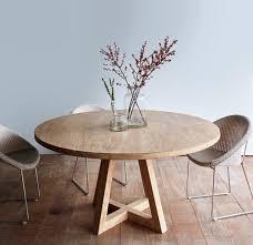 table en bois de cuisine la plus originale table de cuisine ronde en 56 photos