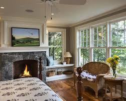 fireplace window houzz