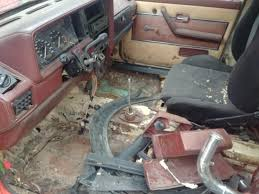 Mk1 Rabbit Truck Nasty Insides... : Projectcar