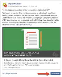 Google Landing Page Compliance