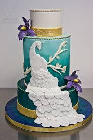 Peacock Wedding Cake Gainesville FL