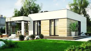 100 Modern One Story House 102 M Is A Project In Brick Technology Flat Roof For A Family Of Four