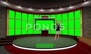 News 031 Tv Studio Set