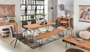 esszimmer sitzbank bagli massiv holz akazie 180 x 45 x 40 cm holz bank natur produkt küchenbank im landhaus stil
