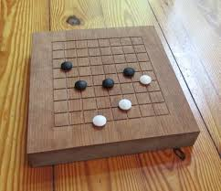 Goban Game Go Board 9 By Grid With Playing LastingWoods
