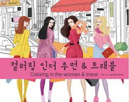 Coloring In The Women Travel