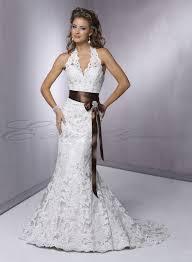 halter a line wedding dress weddingcafeny com