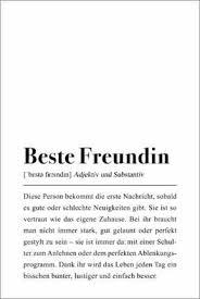premium poster beste freundin definition pulse of