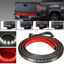 48'' LED Tailgate Strip Bar Truck Light STOP/BRAKE For Ford F-150 ... Access Aa Battery Led Truck Bed Light Installation Youtube Amazoncom Vsek Auto Tailgate Bar Led Tail Strip Evo Formance Siwinder Aftermarket Accsories Powered Strips Kit Single Color 2 Portable Motorcycle Multi 3 Size Fxible With 48 Redwhite Reverse Stop Turn 22 12v Rgb Smd Blue Scanning Remote Stopbrake For Ford F150 Where To Buy White Light Strips For Cars Truck Led Lights Bar X 60 180 Super Bright Ledonlinenadaca