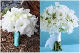 White Gladiolus Bridal Bouquet