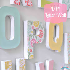 The Collection of School art youtube diy letter decor the