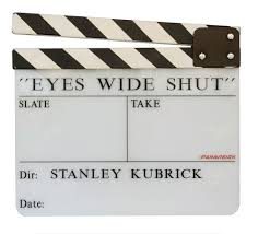 Stanley Kubrick Eyes Wide Shut Clapperboard Photo Taken From And Me The Compelling Memoir Of Emilio DAlessandro Personal Assistant To